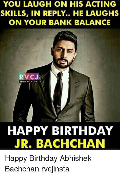 You Laugh On His Abhishek Bachchan Meme