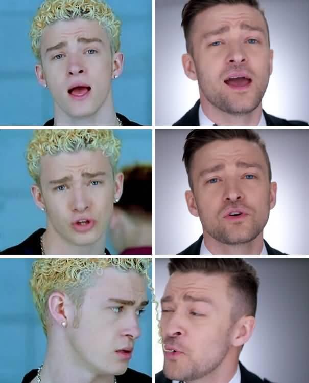 Funny Noodle Hair Timberlake Justin Timberlake Meme