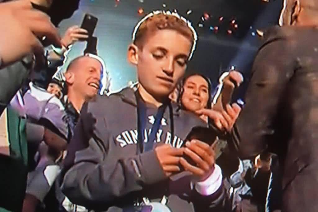 Justin Timberlake Meme Selfie Kid