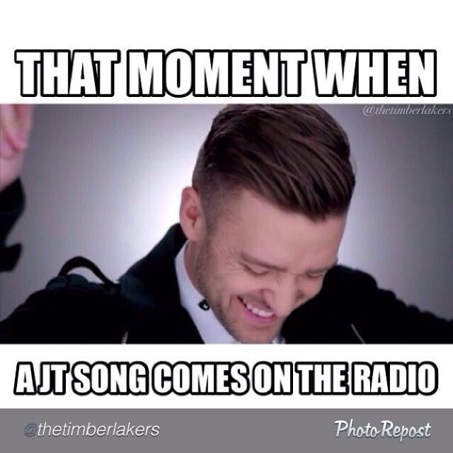 Justin Timberlake Meme That Moment When AJT