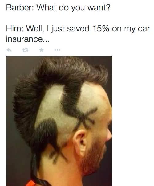 Fresh Haircut Meme Barber What Do You