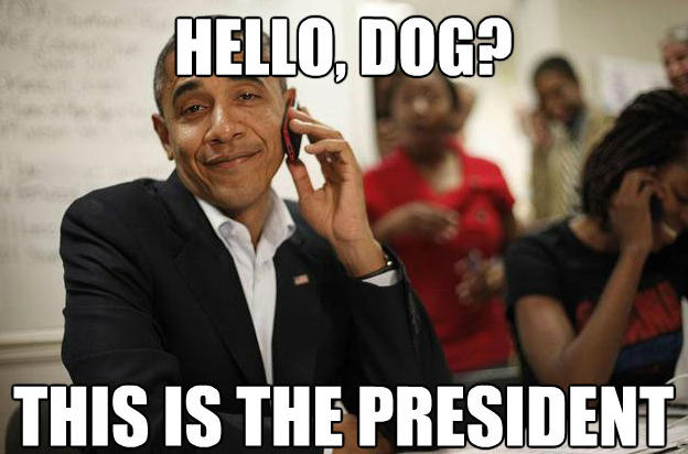 Hello Dog This Is The Barack Obama Meme