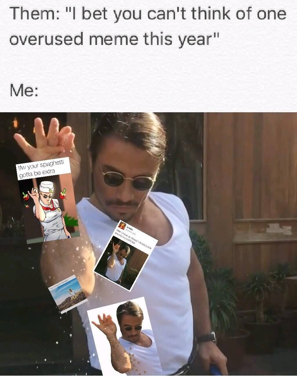 I Bet You Can't Bae Meme