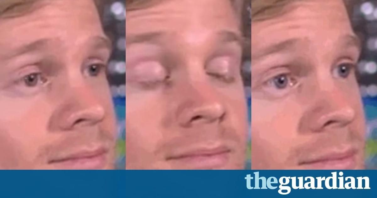 Teh Guardian Blinking Guy Meme
