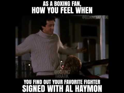 As A Boxing Fan Boxing Meme