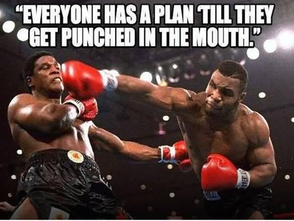 Everyone Has A Plan Boxing Meme