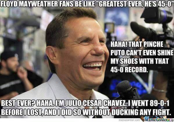 Haha That Pinche Puto Boxing Memes Mayweather