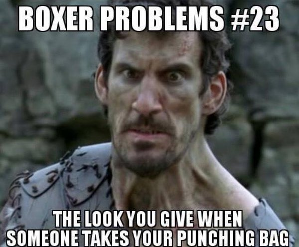 The Look You Give Boxing Meme