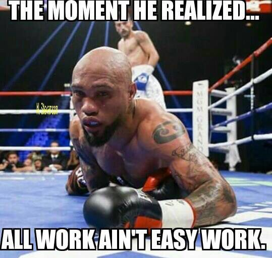 The Moment He Realized Boxing Memes Mayweather