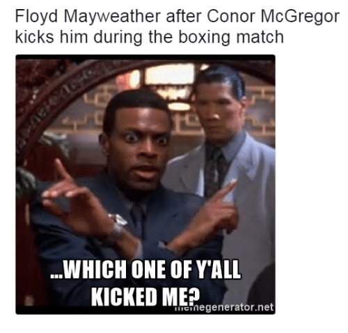 Which One Of Y'all Boxing Memes Mayweather