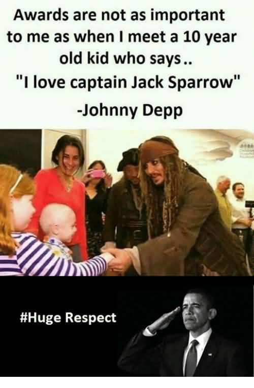 Awards Are Not As Captain Jack Sparrow Meme