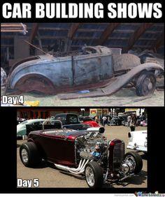 Car Building Shows Car Memes Car Throttle