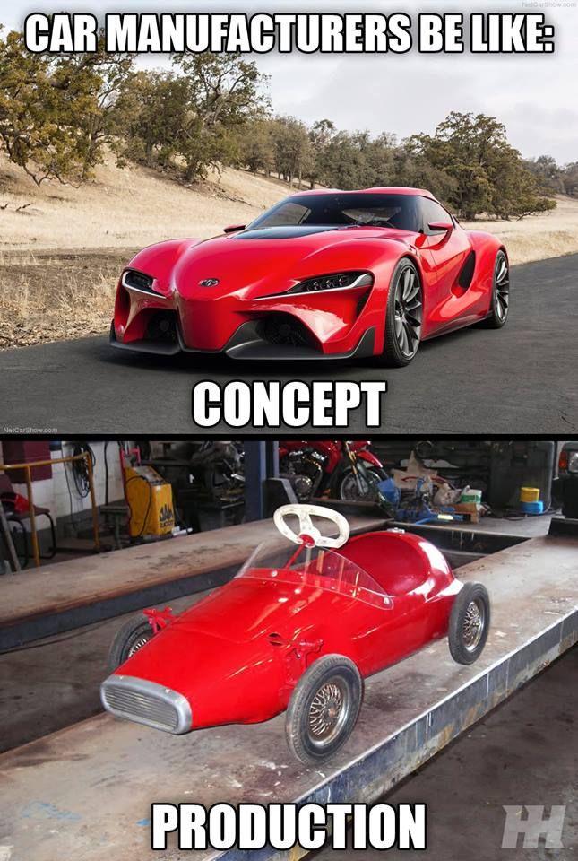 Car Manufactures Be Like Car Meme
