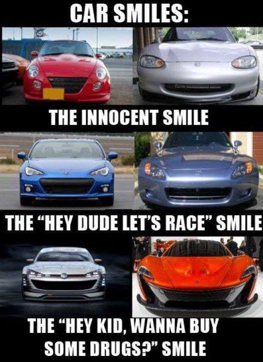 Car Smiles The Innocent Car Memes Car Throttle