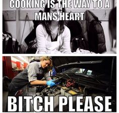 Cooking Is The Way Car Girl Meme