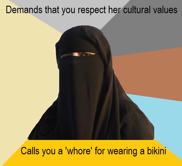 Demands That You Respect Burka Meme