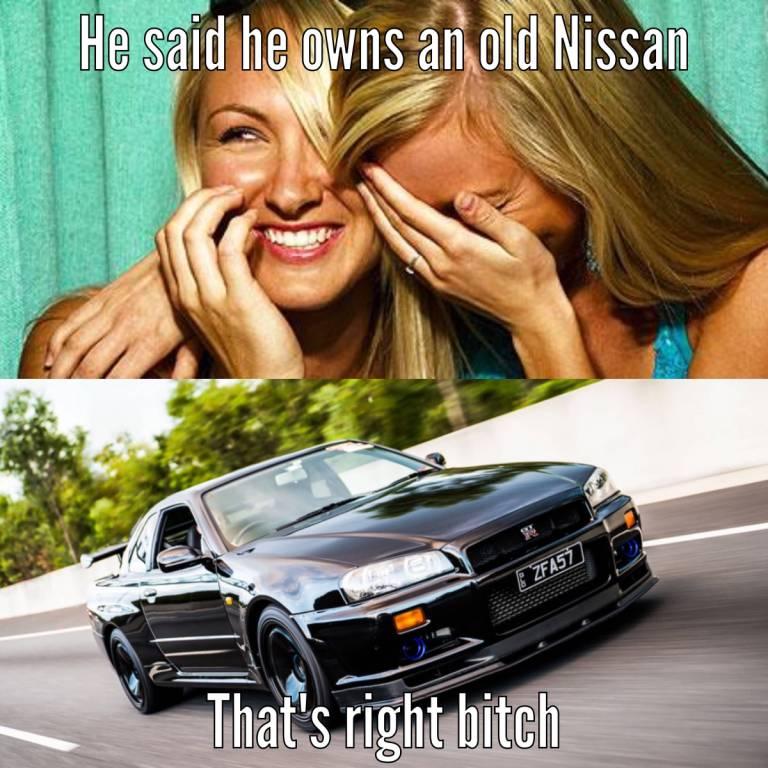 He Said He Owns Car Girl Meme