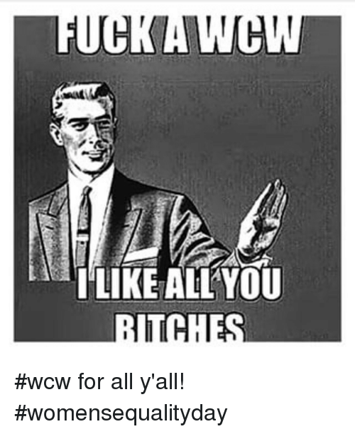 I Like All You Wcw Meme