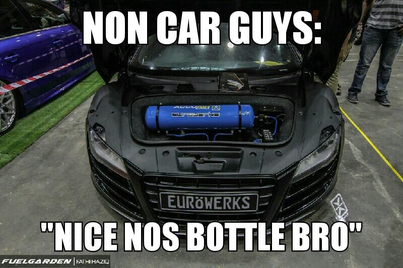 Non Car Guys Nice Car Guy Memes