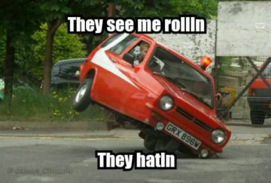 They See Me Rollin Car Meme