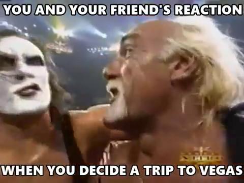 When You Decide A Trip Wcw Meme