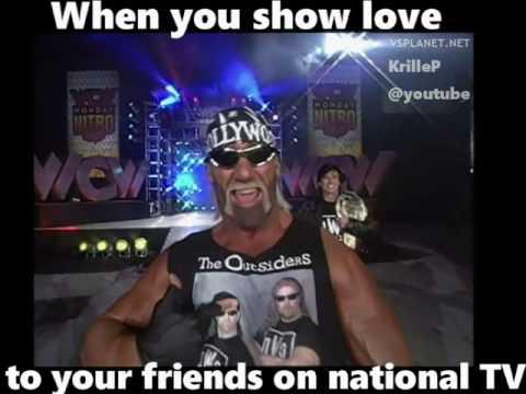 When You Show Love Wcw Meme
