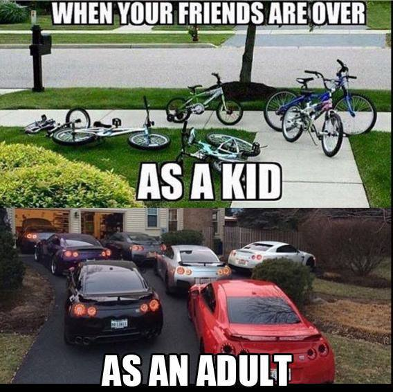 When Your Friends Are Over Car Memes Car Throttle