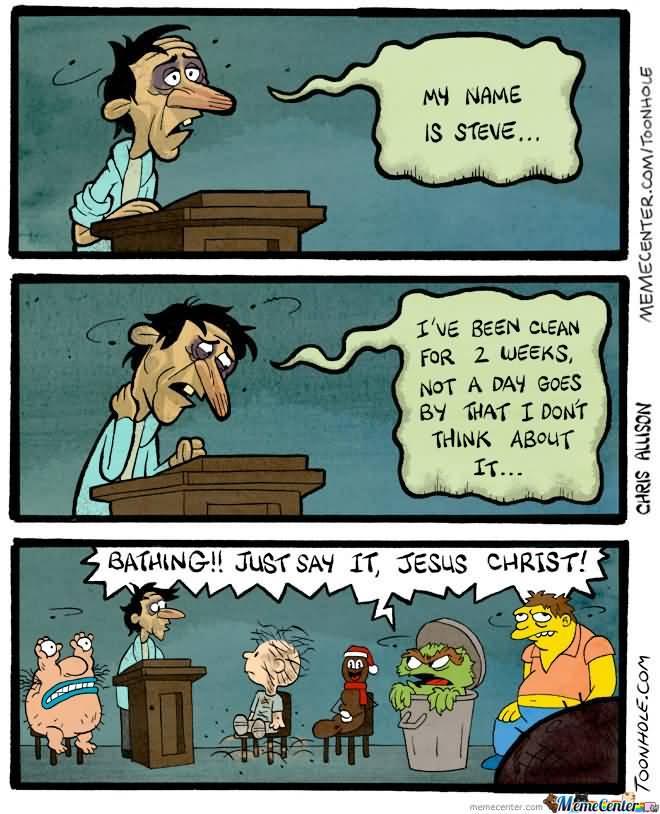 My Name Is Steve Cartoon Memes Clean
