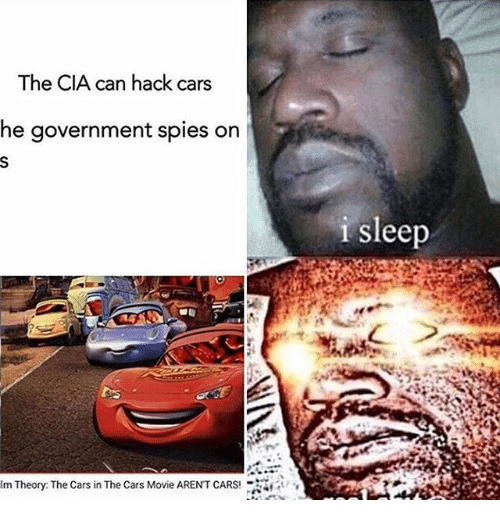 The CIA Can Hack Cars Movie Memes