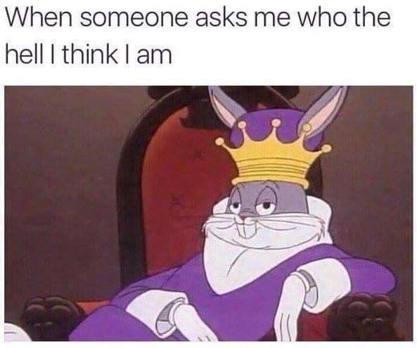 When Someone Asks Me Cartoon Meme