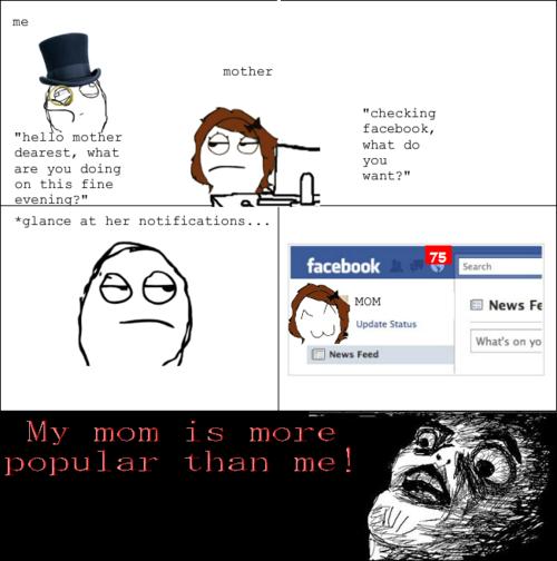 My Mom Is More Cartoon Memes Facebook