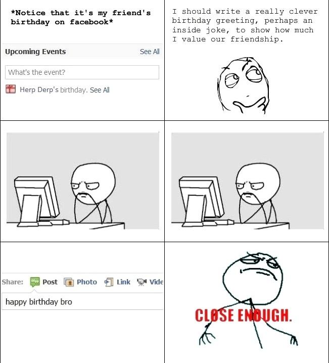 Notice That It's My Friend Cartoon Memes Facebook