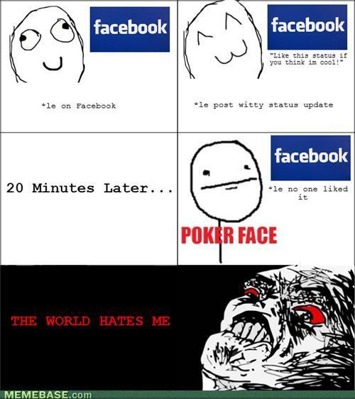 The World Hates Me Cartoon Memes Facebook
